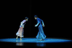 A casually met acquaintance-The third act of dance drama-Shawan events of the past. Guangdong Shawan Town is the hometown of ballet music, the past focuses on Stock Images