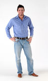Casualy dressed man Royalty Free Stock Photos