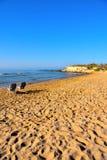 Casuzze beach sicily, italy. Casuzze beach between marina di ragusa and punta secca, sicily, italy stock photos