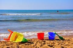 Casuzze beach sicily, italy. Casuzze beach between marina di ragusa and punta secca, sicily, italy royalty free stock photos