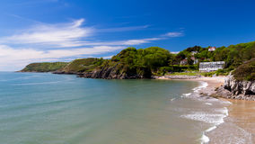 Caswell Bay Wales UK Europe Royalty Free Stock Photo