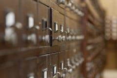 Catálogo de biblioteca Foto de Stock Royalty Free