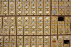 Catálogo de biblioteca Fotos de Stock Royalty Free
