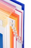 Catálogo de producto Imagenes de archivo