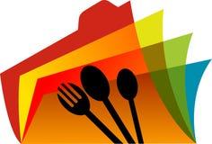 Catálogo del alimento ilustración del vector