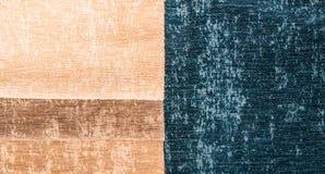 Catálogo del paño multicolor de la tela de los muebles, fondo de la textura, textura de la tela de seda fotos de archivo