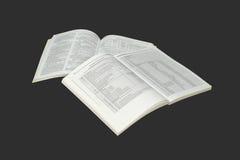 Catálogos de la pila. Imagen de archivo libre de regalías