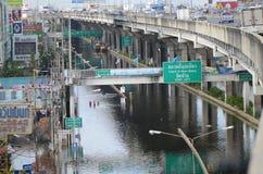 Catástrofe en Bangko a partir del 22.11.2 foto de archivo libre de regalías