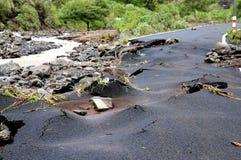 Catástrofe natural Fotografía de archivo libre de regalías