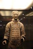 Guerriers de terre cuite de Xi'an en Chine Image stock