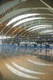 Catégories de ville : Conception d'éclairage d'éclairage d'aéroport de Pudong Image stock