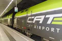CAT火车,维也纳 图库摄影