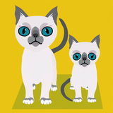 Cat. A vectorial image of cat stock illustration
