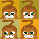 Cat. A vectorial image of cat royalty free illustration