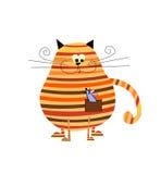 Cat stock illustration