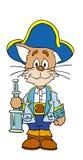 Cat. Saylor cat vector illustration