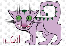 It... Cat!. Cartoon. Vector illustration Royalty Free Stock Image
