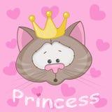 Cat公主 向量例证