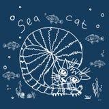 海CAT 库存照片