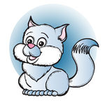 Cat. Illustration vector illustration