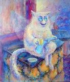 Cat royalty free illustration