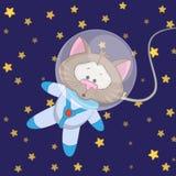 Cat astronaut Stock Images