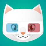 Cat avatar Royalty Free Stock Photography