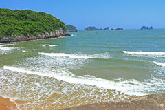 Cat ba cat coi cat co beach Royalty Free Stock Photo