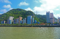 Cat ba city Royalty Free Stock Photography