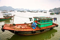 Cat ba Island, Halong Bay, Vietnam. Stock Photo