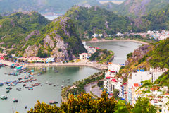 Cat Ba island at Halong Bay, Vietnam Stock Photography