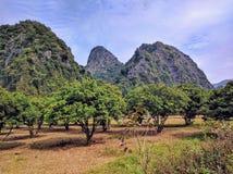 Vietnam cat ba island by day Royalty Free Stock Photo