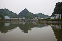 Cat Ba town Stock Images