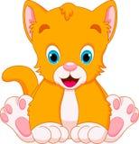 Cat babies cartoon Stock Photography