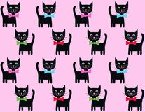 Cat background Stock Images