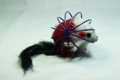 Cat& x27; brinquedo de s Fotografia de Stock