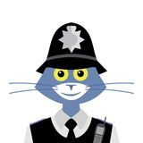 Cat British constable Stock Images