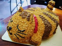 Cat cake Royalty Free Stock Images