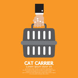 Cat Carrier Royalty Free Stock Images