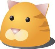 Cat Cartoon. Cute cartoon illustration of a cat's head Royalty Free Stock Image