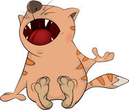 Cat. Cartoon Stock Photo