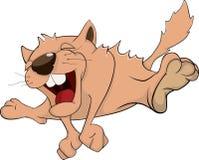 Cat. Cartoon Royalty Free Stock Photography