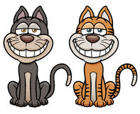 Cat cartoon Stock Photography