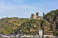Rhine Valley, Germane Royalty Free Stock Photography