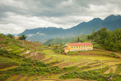 Cat Cat City in Sapa, Vietnam Stock Image