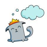 Cat character Stock Photos