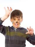 Cat child 2 Stock Photo