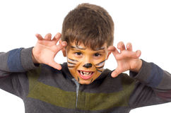 Cat child Royalty Free Stock Photography