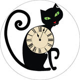 Cat clocks Royalty Free Stock Image
