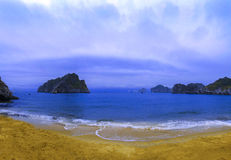 Cat Co 3 Beach. Cat Ba Town. Stock Image